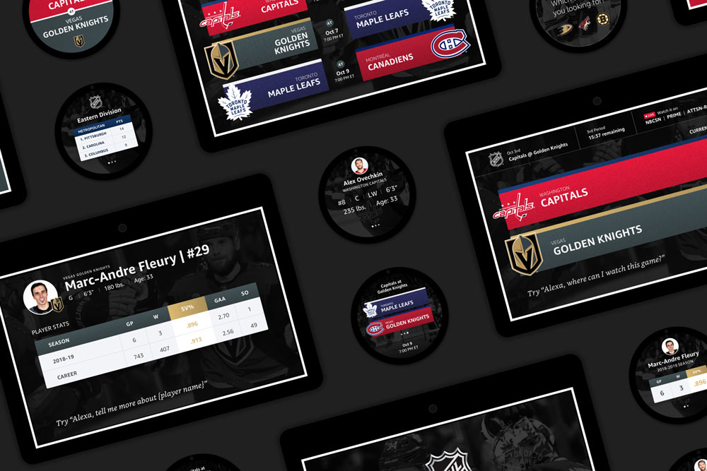 National Hockey League: UX Design